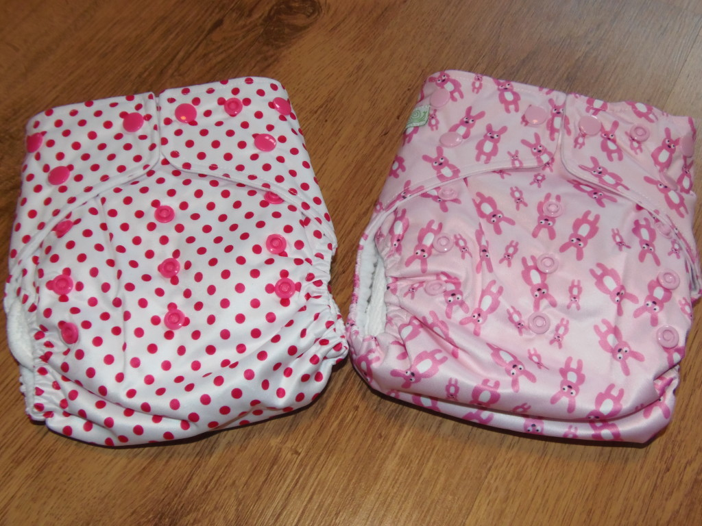 Pretty in Pink! Re-Usable Cloth Nappies!