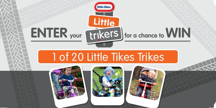 Little Tikes Trike contest