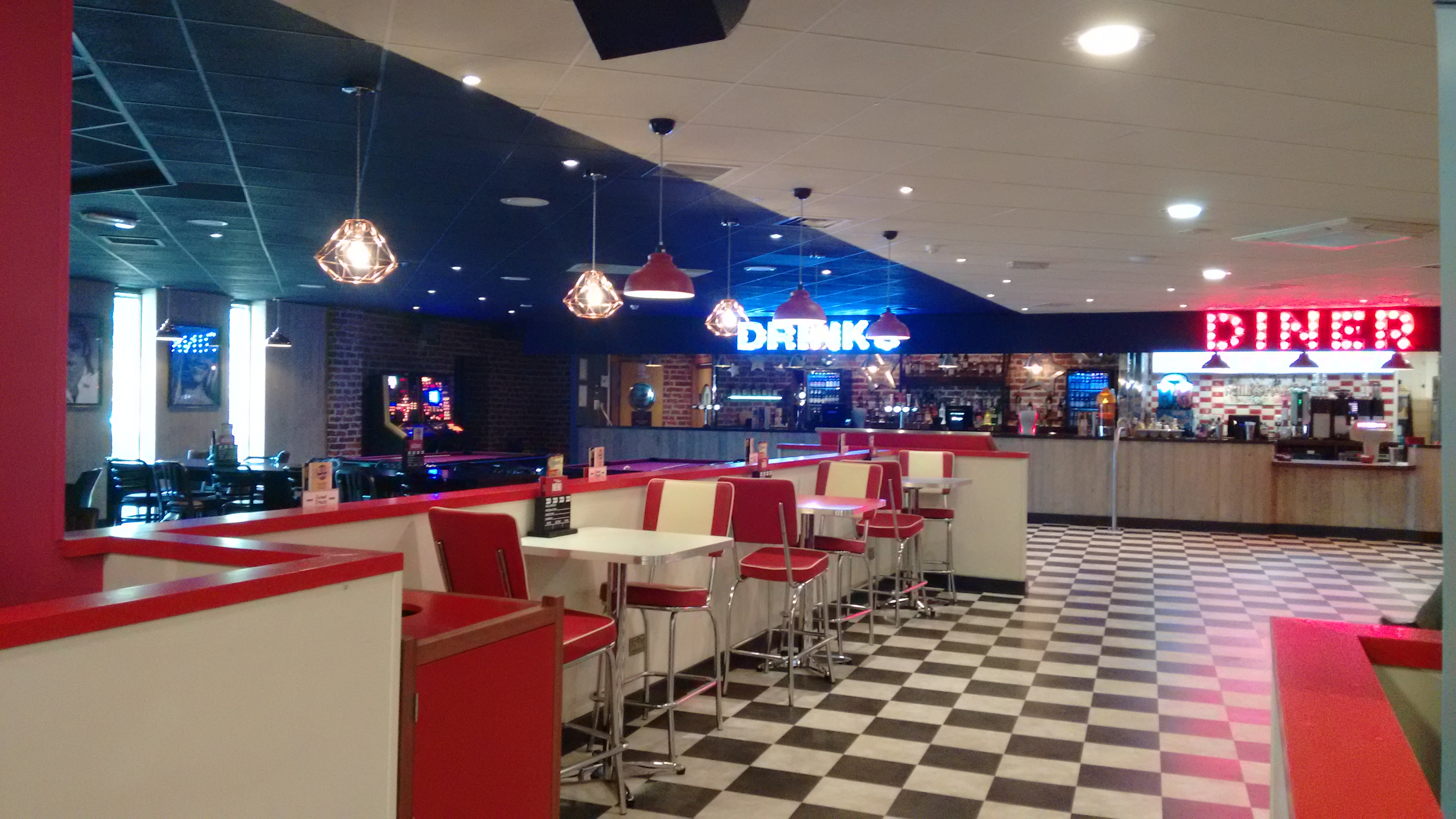 Basingstoke Hollywood Bowl Diner