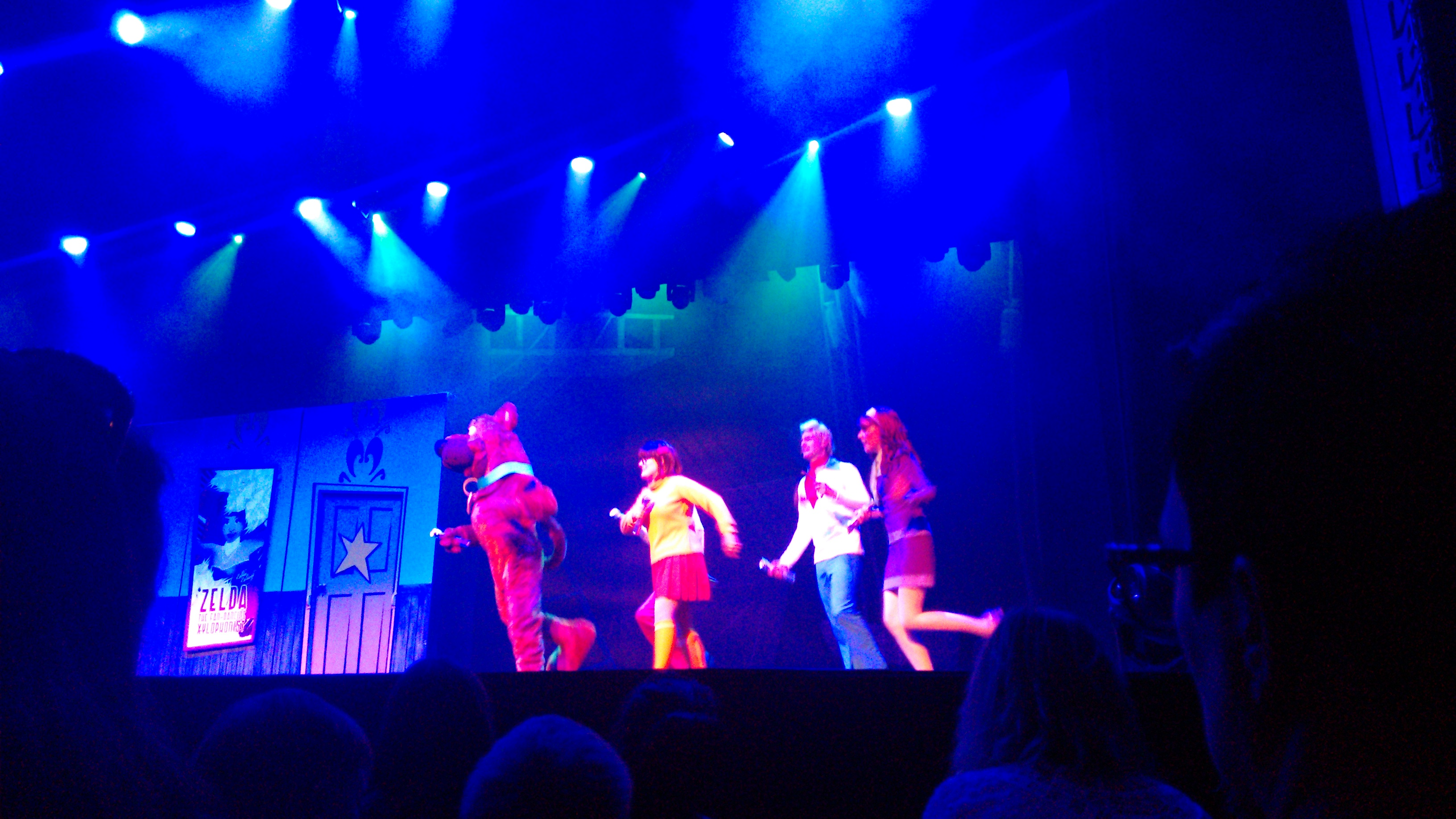 Scooby-Doo on stage