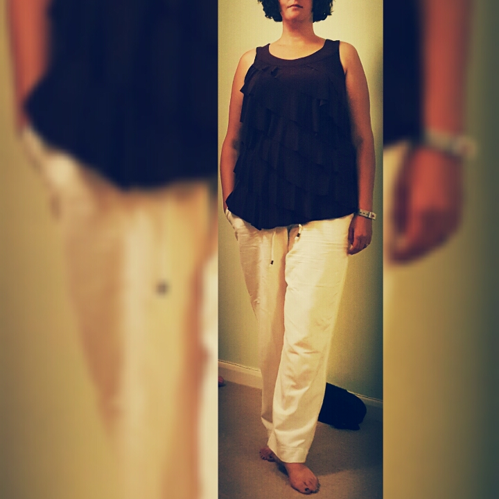 Plus Size Linen trousers