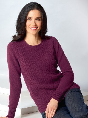 Cashmere Jumper made in England