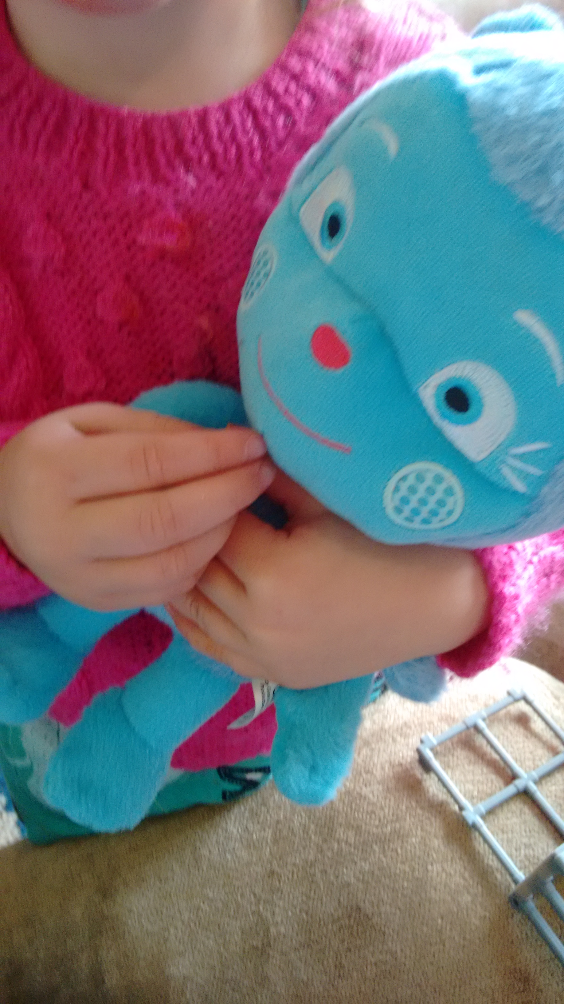 Messy Monster talking soft toy