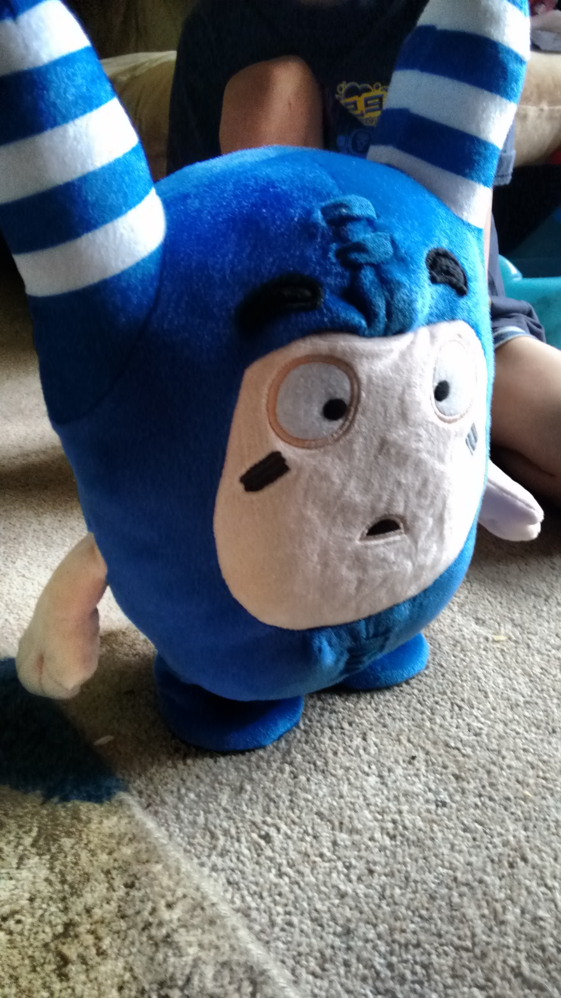 Oddbods voice activated toy