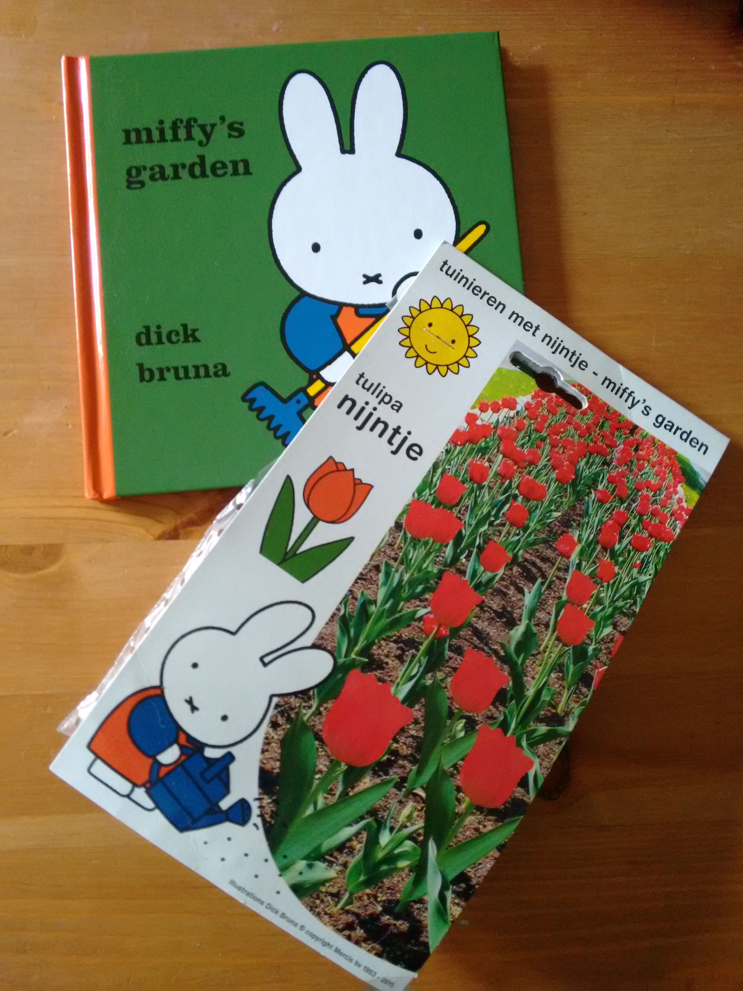 Miffy's Garden and Tulip Bulbs