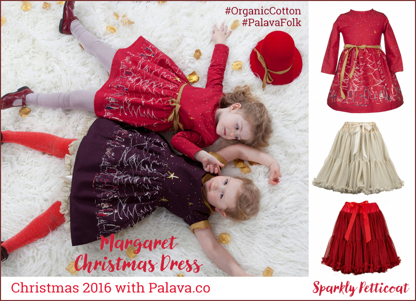 Palava Kids Christmas Party Dresses