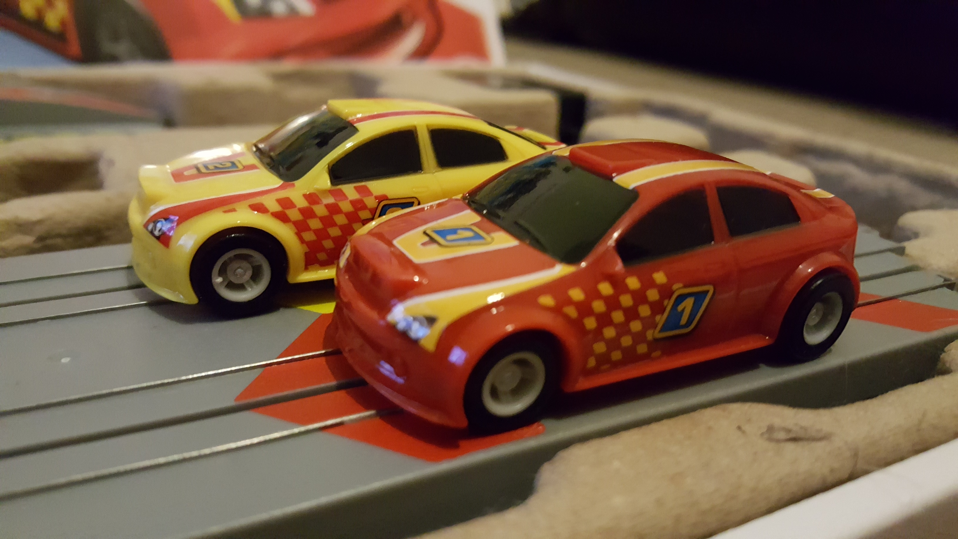 My First Scalextric Cars