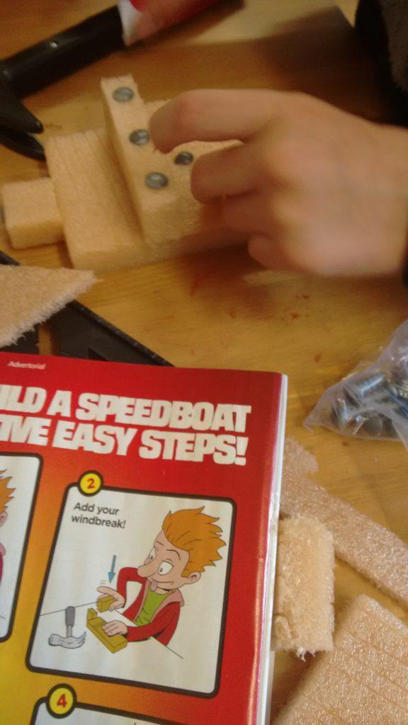 Real Construction - Beano instructions