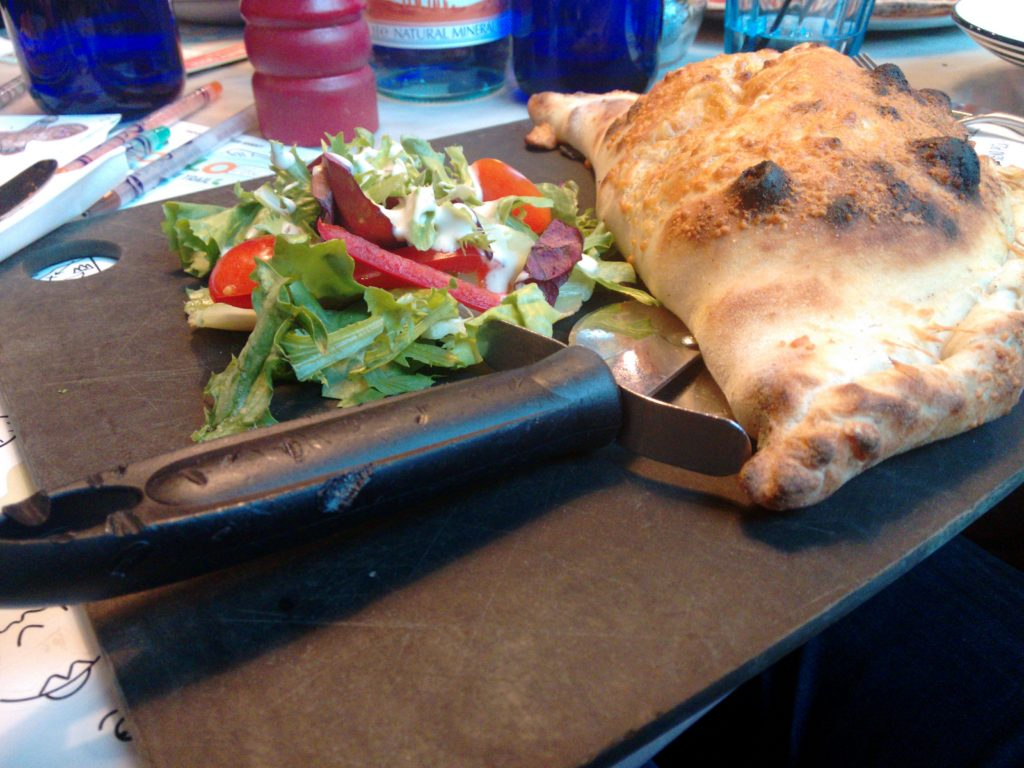 Pizza Express Calzone