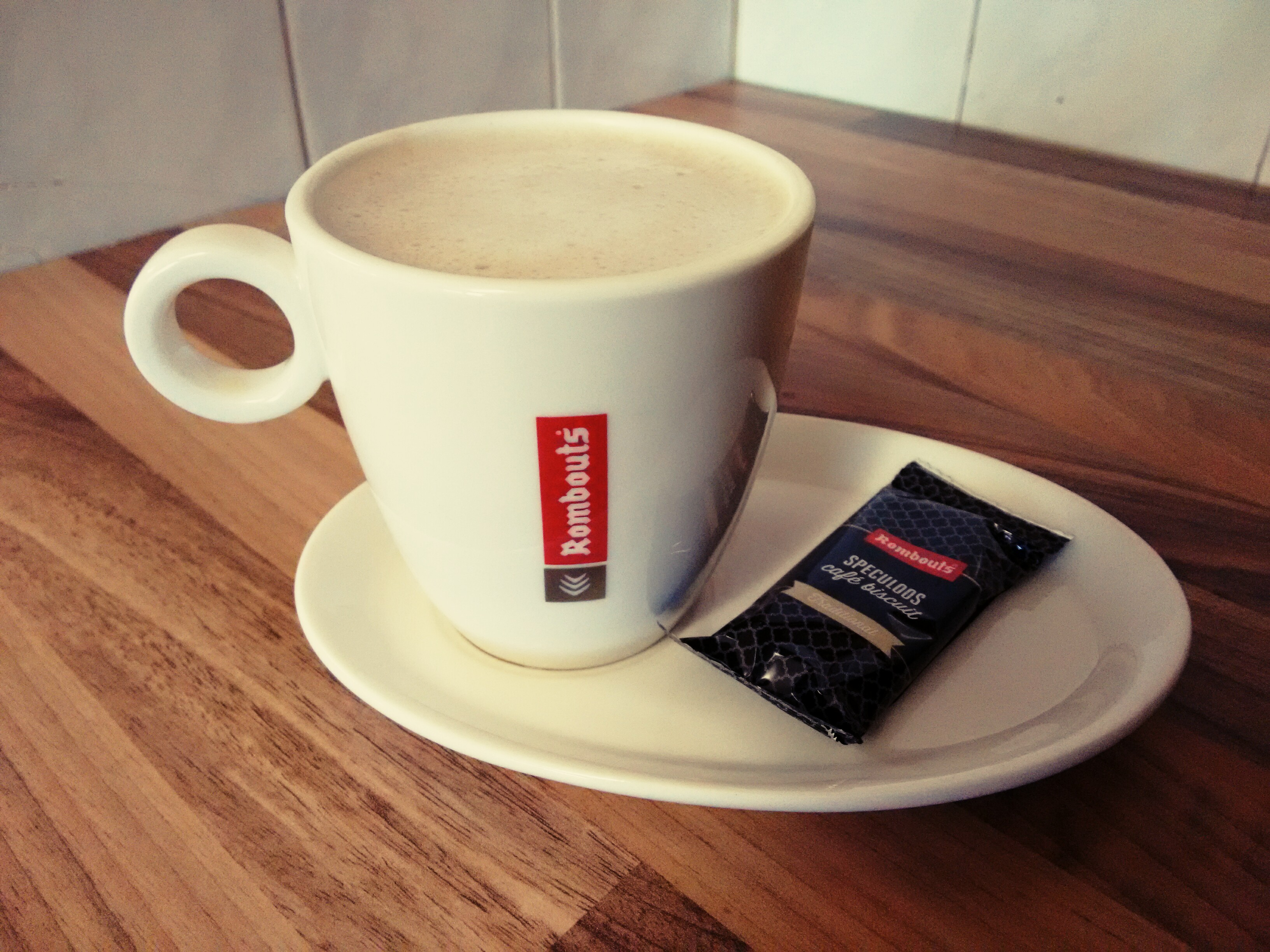 Rombouts Coffee Cups and Saucers