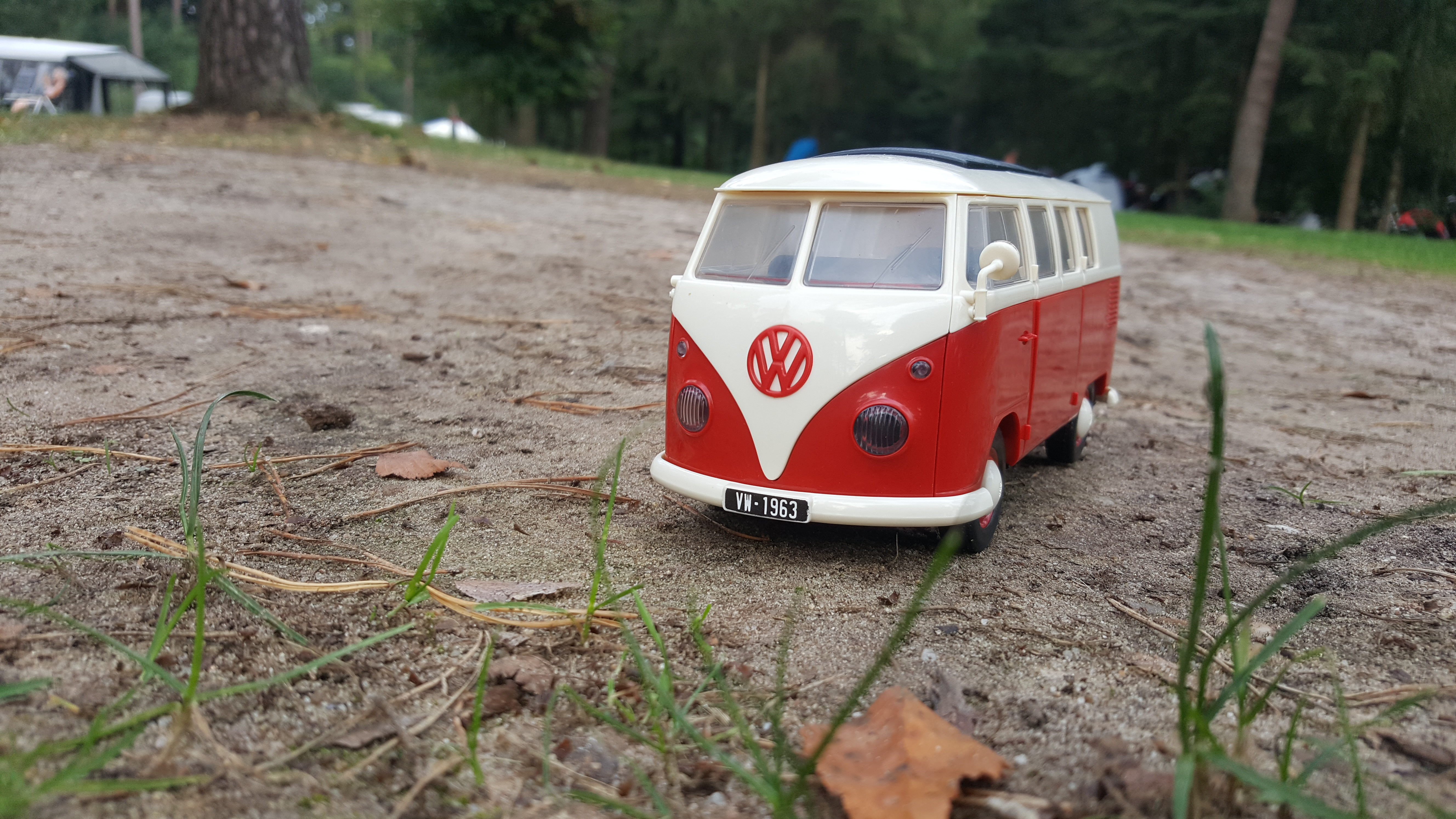 Airfix quick build campervan