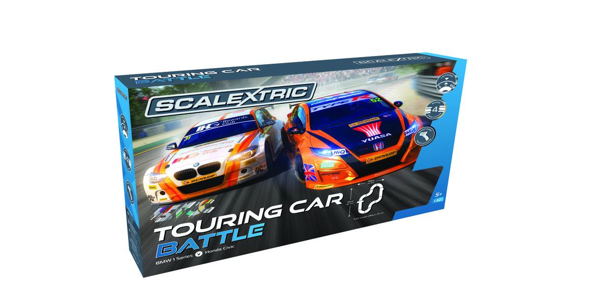 BTCC Scaletrix set