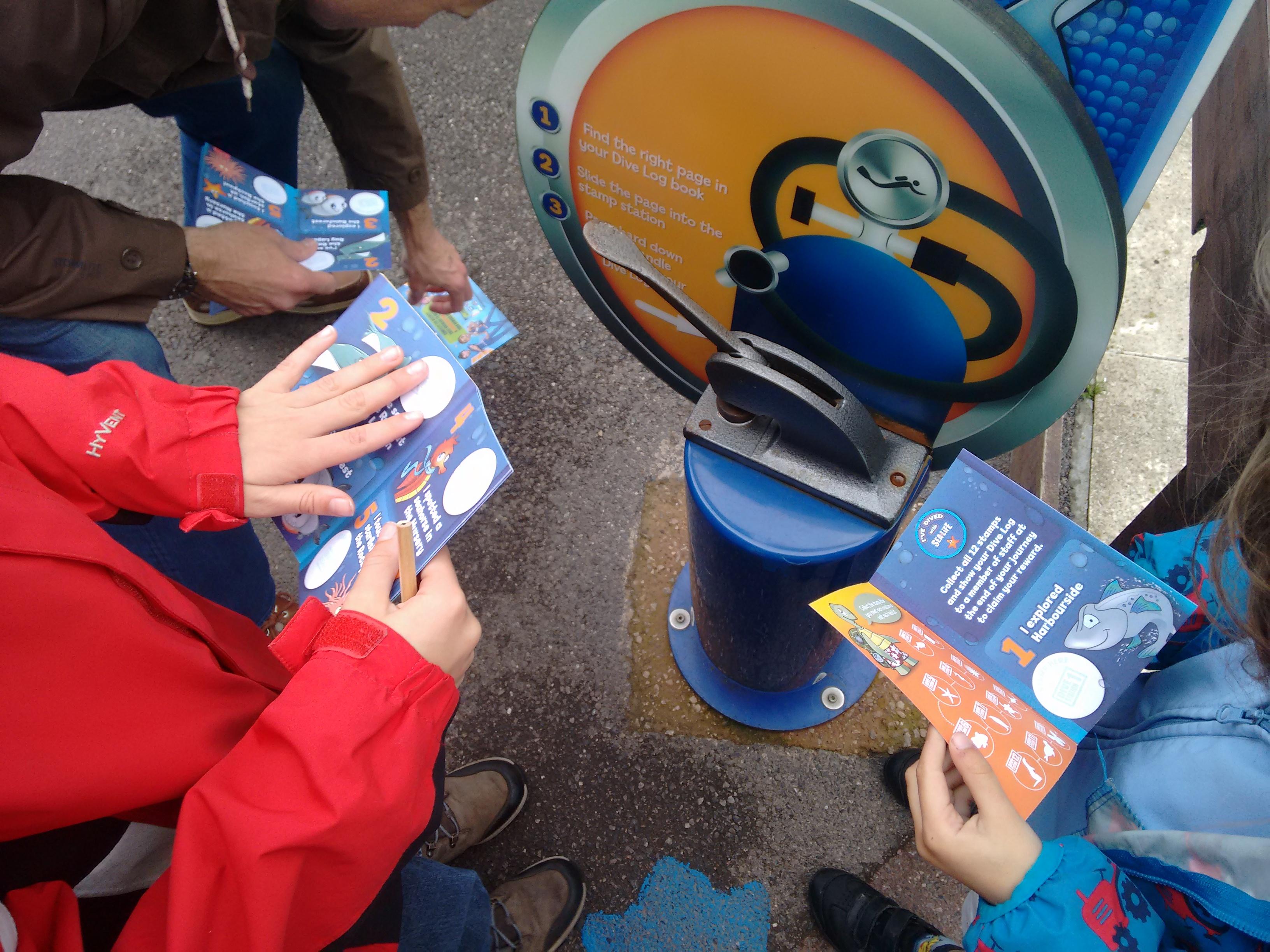 Sealife Centre kids activities