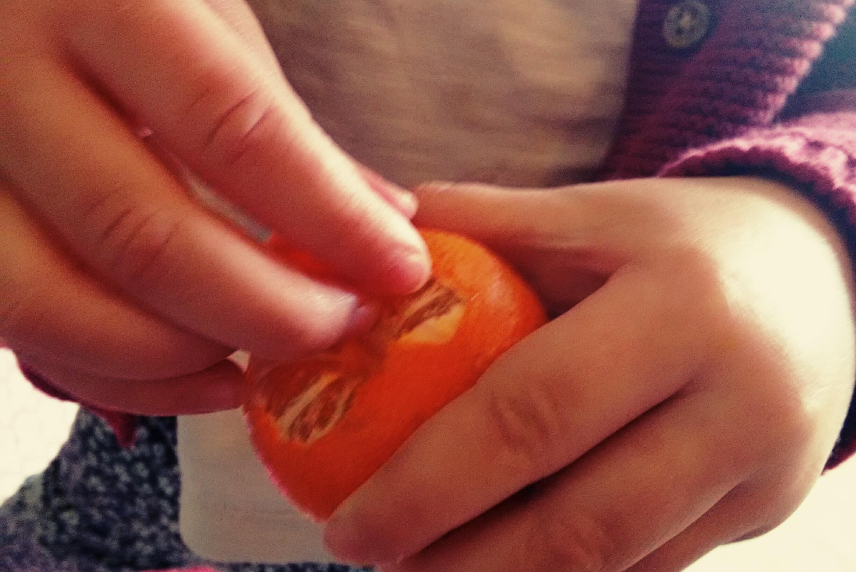 Easy peel mandarins
