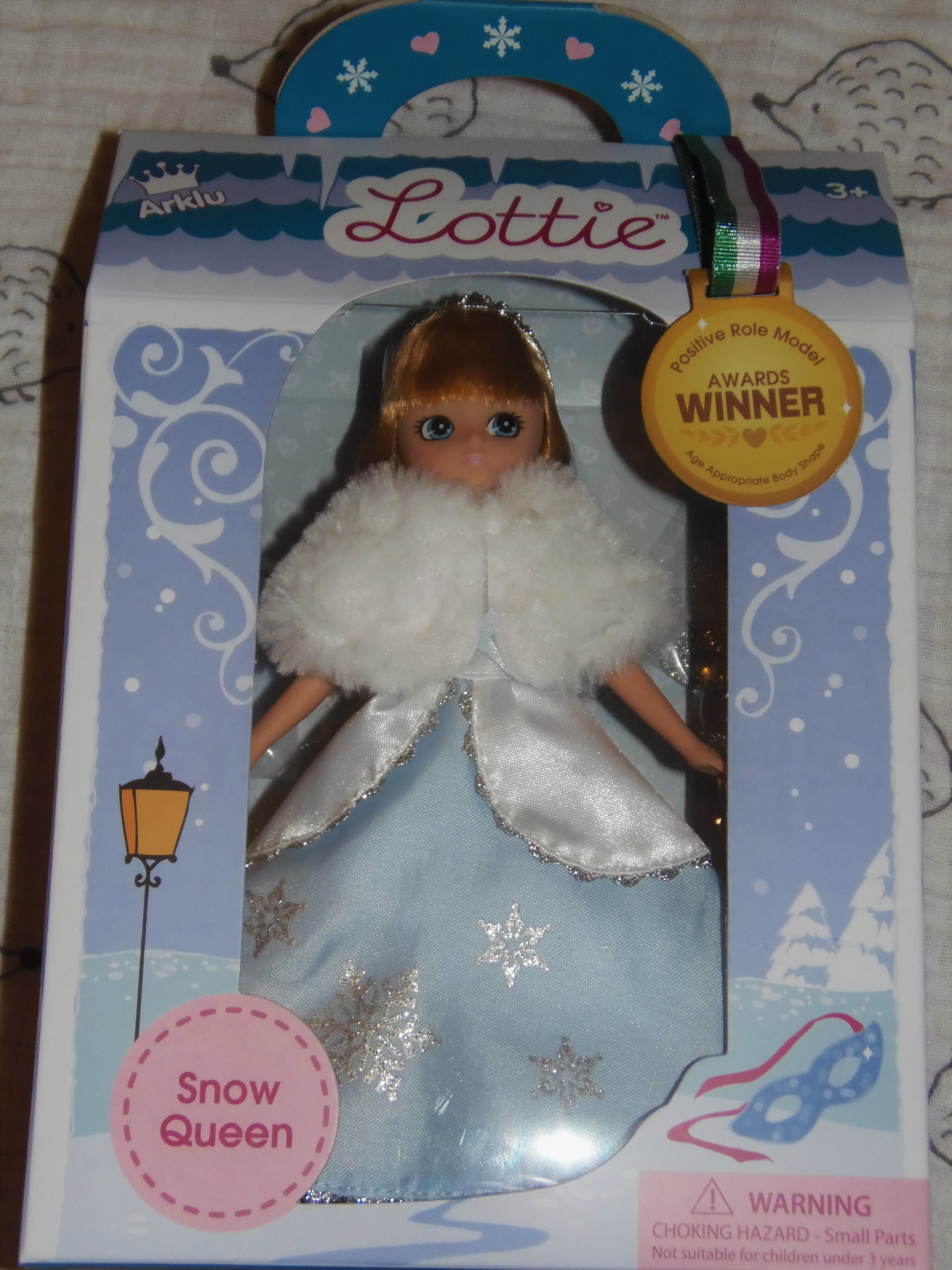 Snow Queen Doll for young child