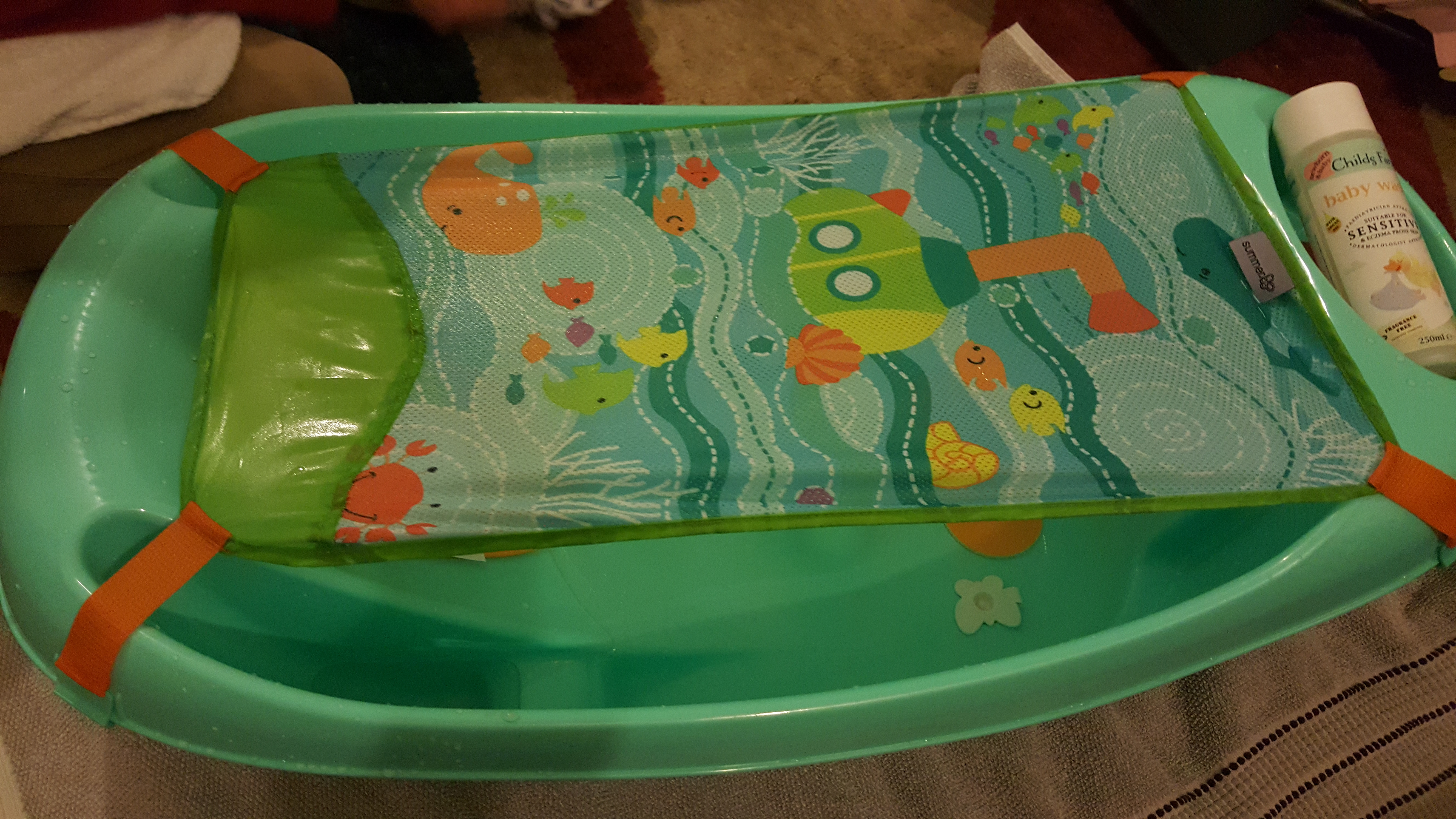Summer Infant My Fun Tub Baby Bath Review Dancing In My Wellies